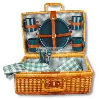 Bambusový piknik koš pro čtyři osoby
