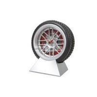 Stolní hodiny - závodní pneumatika
