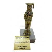 Trofej pro absolventku