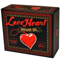 Srdíčkový sprchový gel