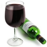 Obří sklenka na víno