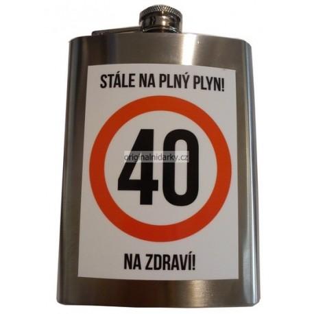 Butylka 40 na plný plyn