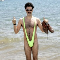 Plavky Borat Mankini
